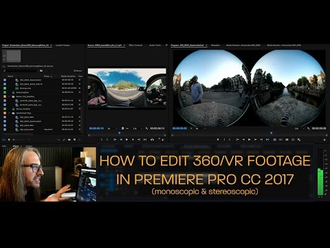 How to Edit 360/VR Video in Premiere Pro CC 2017 (Monoscopic & Stereoscopic) Mp3
