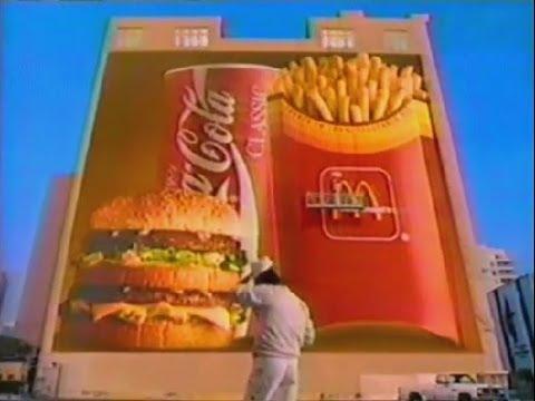 1994 McDONALD's Olympics ad - SuperSize It !!!