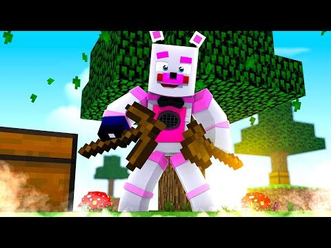 Funtime Freddy Skyblock Adventure! Minecraft FNAF Roleplay