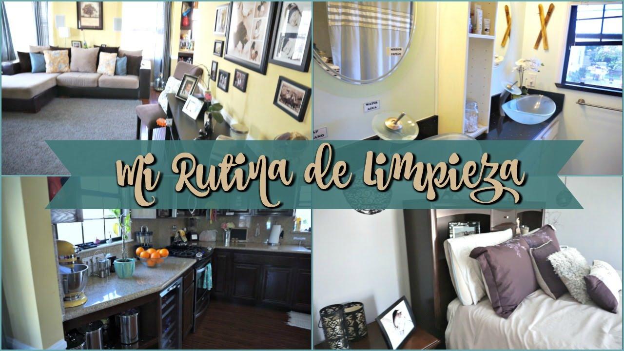 MI RUTINA DE LIMPIEZA SEMANAL - Que productos uso y como organizó mi ...