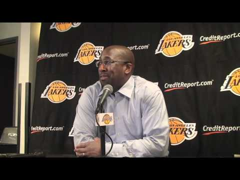 Lakers Coach Mike Brown on Derek Fisher