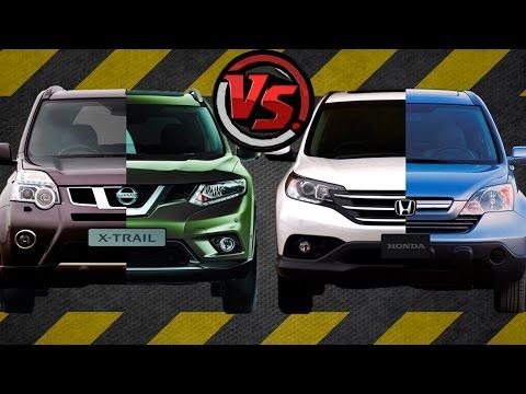 2hp Nissan X Trail Vs Honda CR V