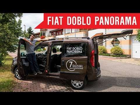 Hatalmas Tér 7 üléssel Is I Fiat Dobló Panorama Teszt I Schiller TV I Tesztközelben #67