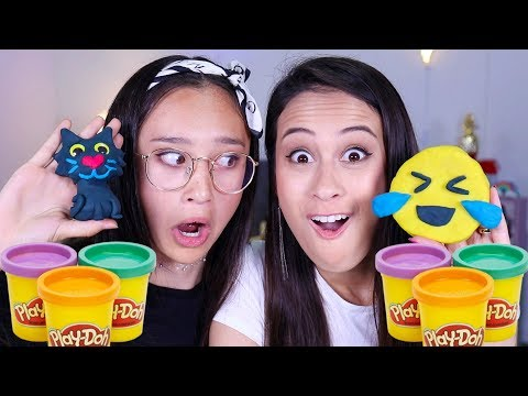 De Play Doh Challenge  Met MeisjeDjamila