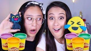 De Play Doh Challenge! | Met MeisjeDjamila!