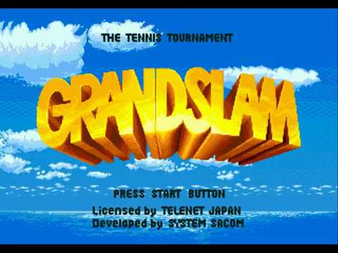 Grand Slam The Tennis Tournament (Sega Mega Drive)