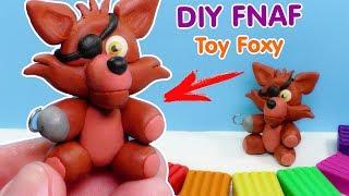 ФНАФ ИЗ ПЛАСТИЛИНА - КАК СЛЕПИТЬ ФОКСИ | Five Nights at Freddy's Foxy Plush Plasticine Tutorial