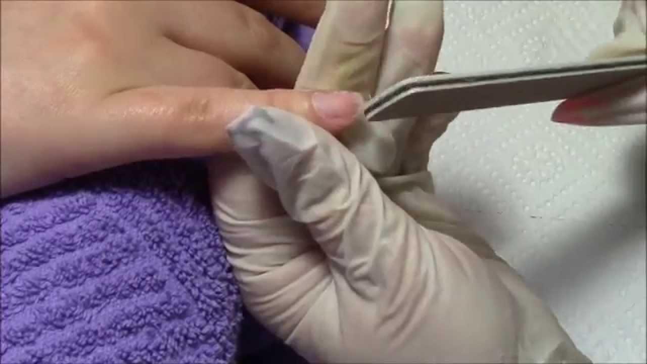 Nägel mit Tip verlängern - YouTube