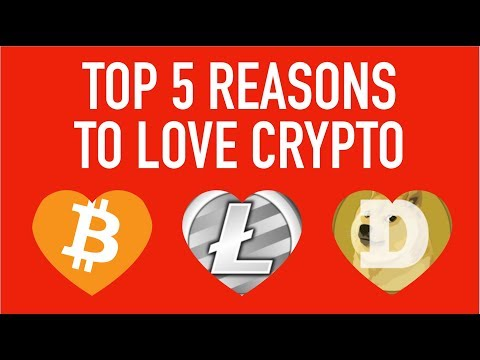 👀 TOP 5 REASONS WE ❤️️ CRYPTO!! 🚀 (Whiteboard animation video)