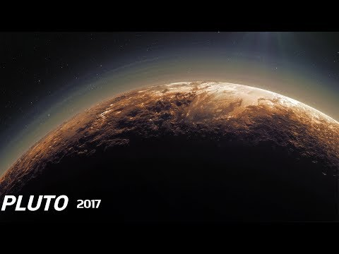 THE 'MELODY' OF PLUTO (HD) + Flyover. (New/2017)