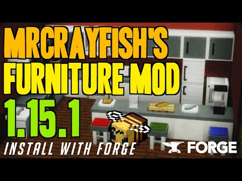 MRCRAYFISH'S FURNITURE MOD 1.15.1 Minecraft - How To Download & Install Furniture Mod 1.15.1
