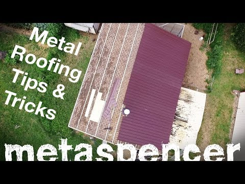Metal Roofing Installation Tips & Tricks