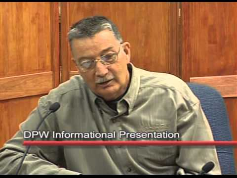 Department of Public Works: Informational Presentation