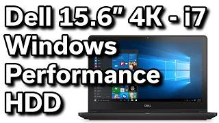 Windows Performance - 8GB RAM / 1TB HDD - Dell Inspiron 15 - i7559 - $1,000 4K Gaming Laptop
