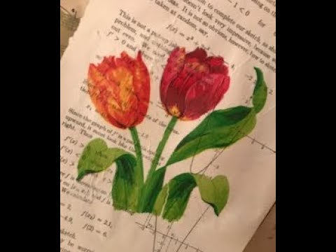 Decoupaged Napkins - Music Sheets, Math & Book Pages And More!