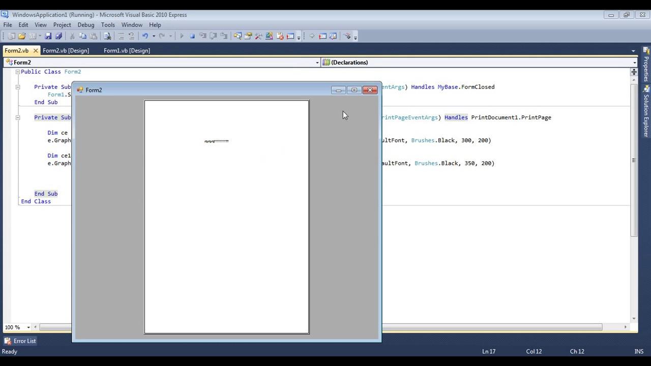 Download Visual Basic 2010 Torrent