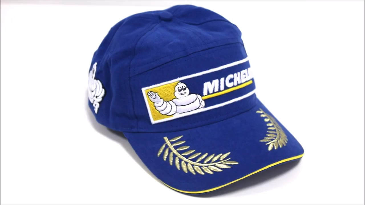 75f10ef493ac1 Gorra Michelin Ganador de Carrera - YouTube