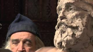 "Robert Liberace teaches 'The Portrait in Terra Cotta"" sculpture Excerpts large"