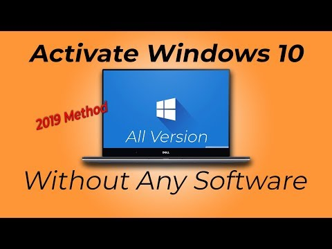 Activate Windows 10 All Version Without Any Software (2019 Method) | Shakil The Lazy Panda