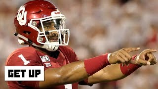 Jalen Hurts tore apart Houston's defense with Oklahoma's run-pass option   Get Up