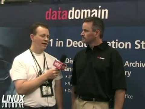 Linux Journal Chats with Data Domain about Deduplication Sto