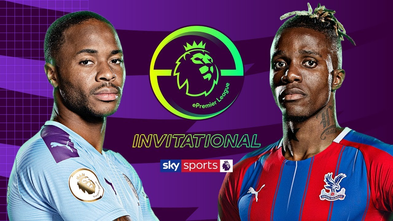 Raheem Sterling vs Wilfried Zaha | Manchester City vs ...