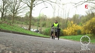 Nouveau - À vélo pour les vacances