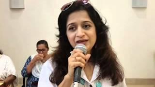 Kuch Dil Ne Kaha.. by Bela Sulakhe ji in Rehersal of her big show..