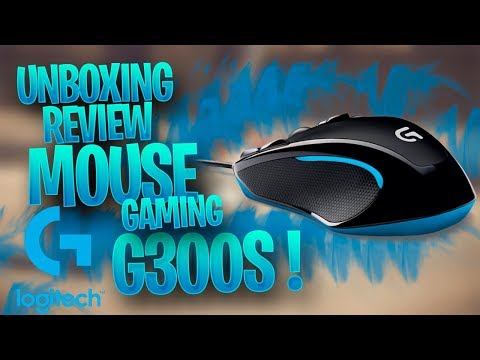 Unboxing y Review Mouse Gamer Logitech G300S