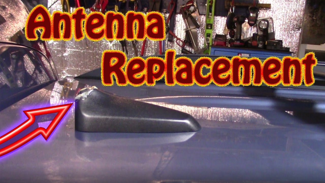 Diy How To Replace A Broken Roof Mounted Antenna And Base