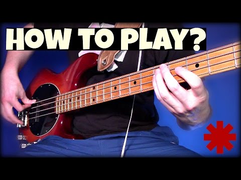 How to Play Goodbye Angels // UNDER 5 MINUTES // RHCP Bass Tutorial + Tab -  Extreme Bass