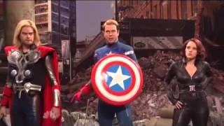 Jeremy Renner's Hawkeye Parody for Saturday Night Live