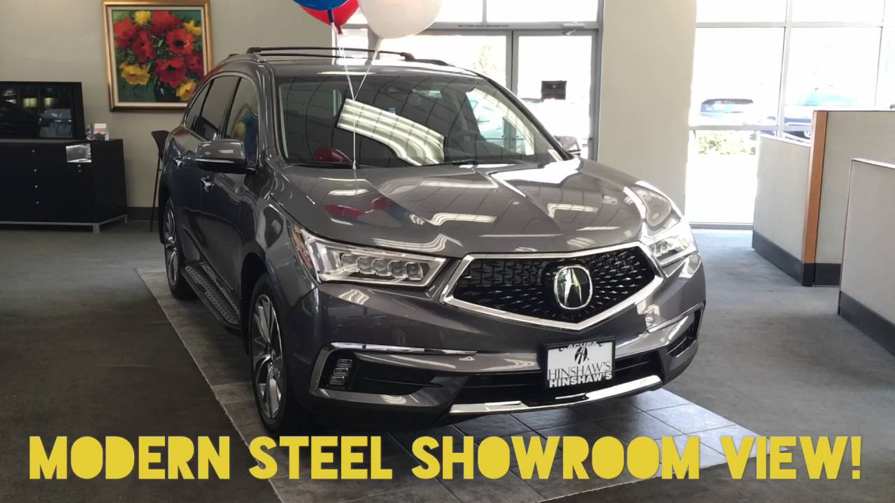 The 2017 Acura Mdx Body Style Change New Colors Available