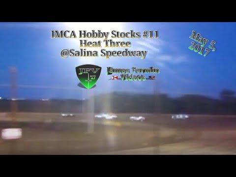 IMCA Hobby Stocks #10, Heat, Salina Speedway, 2017