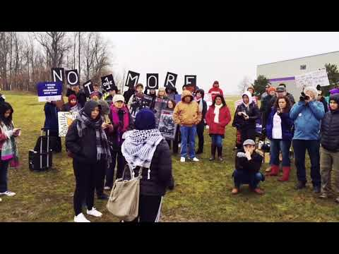 'We Will Not Be Caged! Rally for Immigrant Woman in Batavia NY