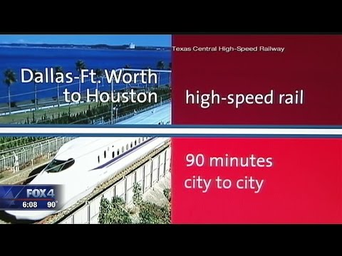 Dallas' Union Station likely not part of bullet train project