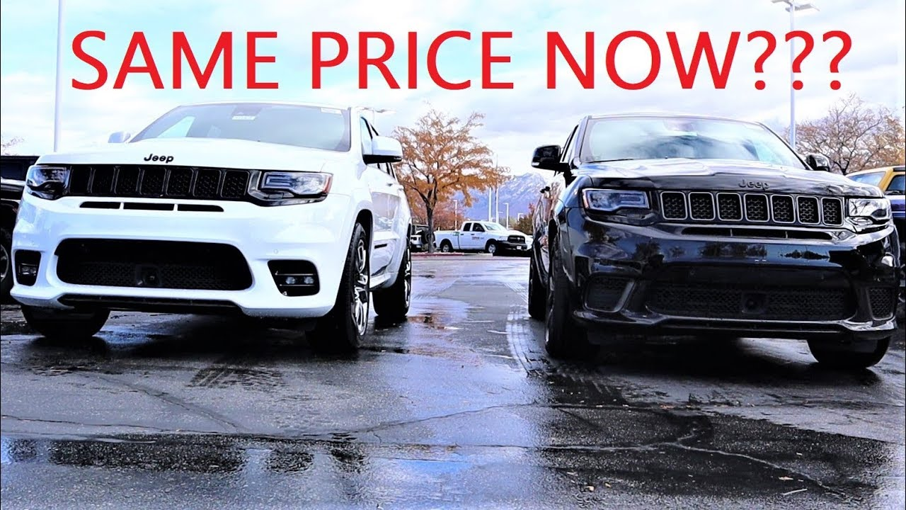 2020 Jeep Grand Cherokee Srt Vs Jeep Grand Cherokee Trackhawk Buy A New Srt Or Used Trackhawk Youtube