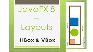 JavaFX 8 Tutorial - HBox y VBox (Layouts) #9 Español