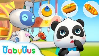 Quiero Comprar Pan | Canción Infantil | Comidas Deliciosas | BabyBus Español
