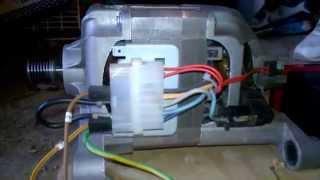 Video comment faire kit commande moteur 220v inverser un for Comment brancher machine a laver