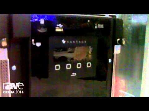 CEDIA 2014: Vantage Talks About IC36-2 Controller