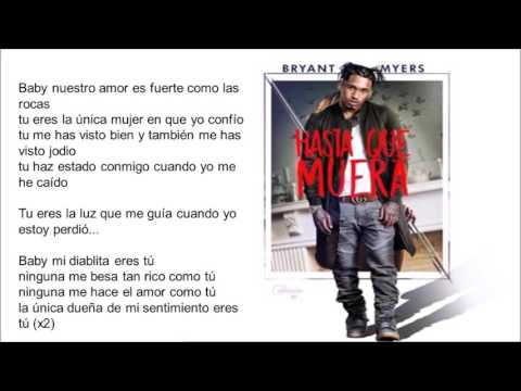 hasta que me muera (letra) bryan myers