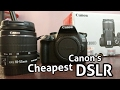 Canon 1300D Unboxing and Hands On