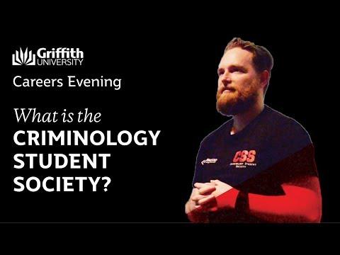 Criminology Student Society Shaine Bennett   Gold Coast   Criminology Careers Evening 2017
