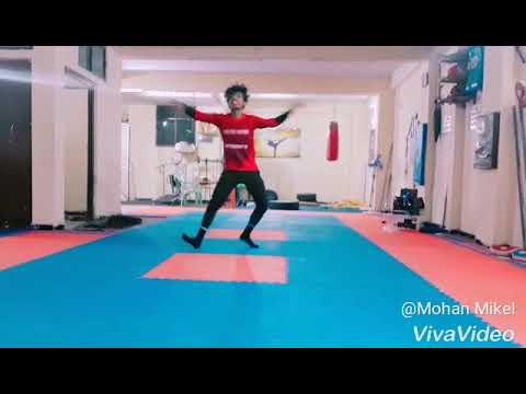 Gundellopallo nee  chitram dachesi dance performance  by Mohan Mikel