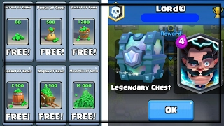 HOW To GET ANY FREE LEGENDARY CARD & GEMS IN CLASH ROYALE NO HACK!!! BEST WORKING METHOD APRIL 2017!