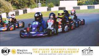 BKF Maginn Machinery Round 6 of TKC 2017 Championship