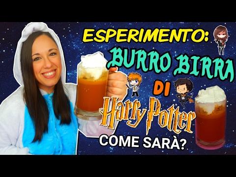 ESPERIMENTO: BURRO BIRRA DI HARRY POTTER (come sarà?) ESPERIMENTI CREATIVI    Iolanda Sweets