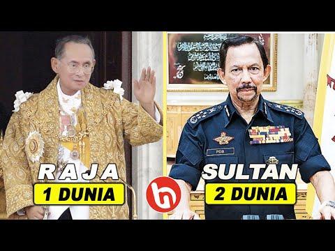 Hassanal Bolkiah Terkalahkan Orang Ini! 7 Perbandingan Harta Kekayaan Raja Thailand Vs Sultan Brunei