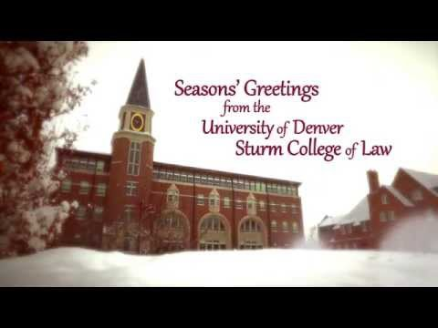 Denver Law Holiday Greeting 2015